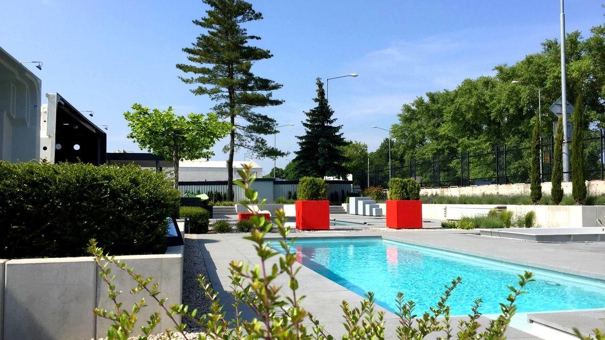 Bazénová záhrada