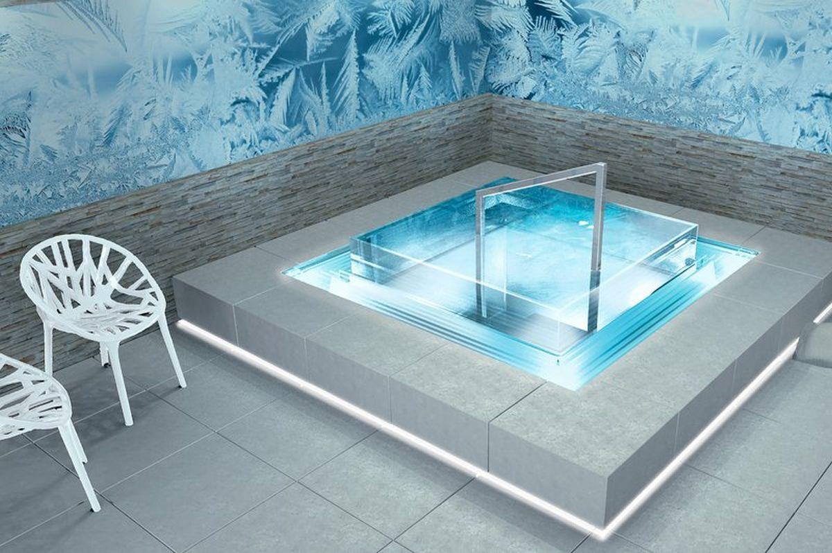 Saunové ochladzovacie bazény